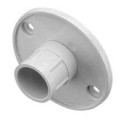 2x Clipsal BACK ENTRY LIDS For Round Junction Box GREY *Aust Brand- 16mm Or 20mm