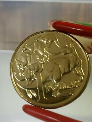 2005 MOR Royal Australian Mint Error $1 Dollar Mob of Roos Coin 100 Cents x Roll