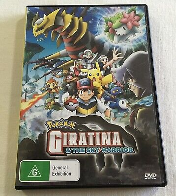 Pokemon: Giratina and the Sky Warrior (2008) - DVD Region 4 | GC | Ash Ketchum