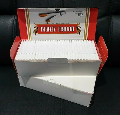 CLEARANCE 800 ROLLO BLUE ULTRA SLIM Tobacco Cigarette filter tubes Memphis venti