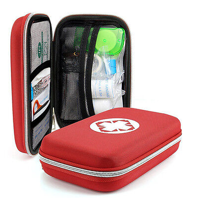 Outdoor First Aid Kit Survival Medical Bag Pouch Treatment Case Emergency