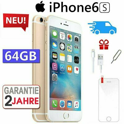 ☀️NEU Apple iPhone 6S 64GB Gold Smartphone Handy Ohne Simlock - Aktion !!