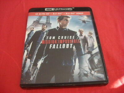 4k + blu ray bonus Mission  Impossible  Fallout vendu sans le blu ray 2d