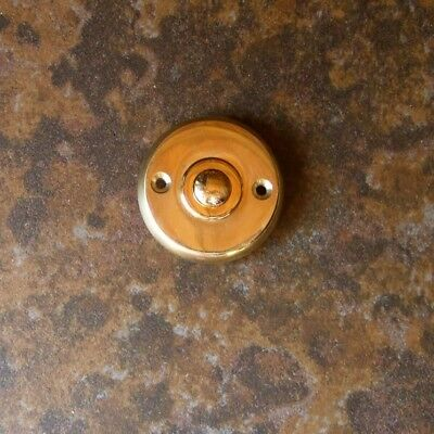 Door Bell Brass round Bell Button Beautiful Simple Front Door Bell