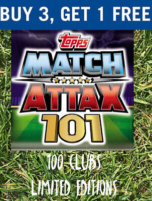 Match Attax 101 Limited Editions / 100 Club