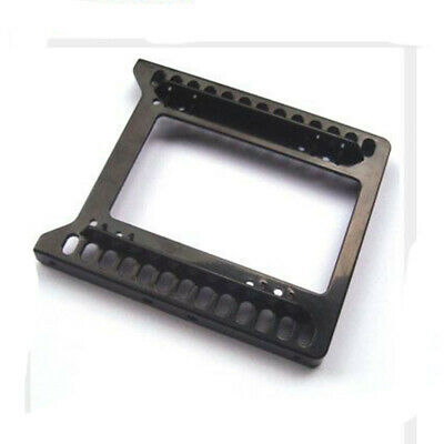 """2.5"""" to 3.5"""" SSD HDD Mounting Adapter Kit Bracket Hard Drive Holder Black"""