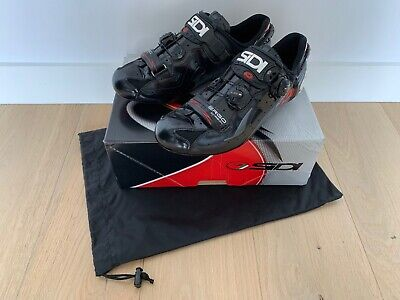 18a9c5a7e4 SIDI ERGO 4 Carbon Road Shoes – Black – Size 42.5 Mega - EUR 63,14 ...