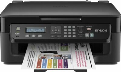 Epson WorkForce WF-2510WF Stampante Multifunzione a Getto d'Inchiostro, Wi-Fi
