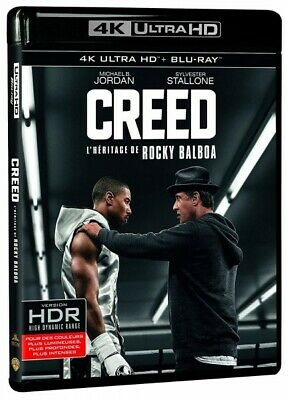Creed (Sylvester Stallone) Blu-Ray 4K Nuovo Blister