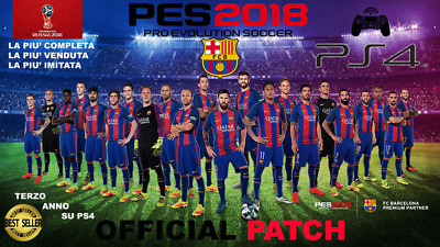 PES 2019 OPTION File PS4 Pro Evolution Soccer Update USB Logos