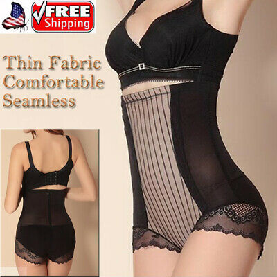 f5d829fe8 High Waist Trainer Bouble Layer Firm Tummy Control Panties Girdle Abs'  Slimmer