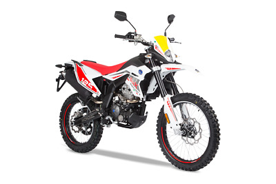 FB MONDIAL SMX 125i ENDURO CBS rot weiss inklusive Anlieferung