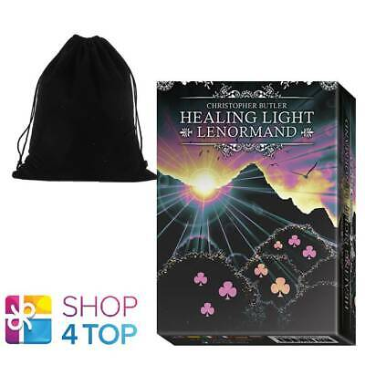 Healing Light Lenormand Oracle Card Deck Butler Lo Scarabeo With Velvet Bag New
