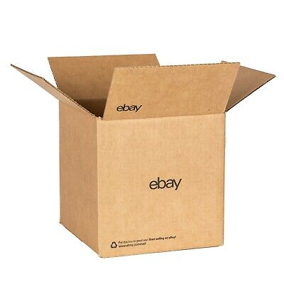 """eBay-Branded Boxes With Black Color Logo 8"""" x 8"""" x 8"""""""