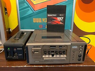 Sony VO-4800PS - Umatic S recorder + new tape