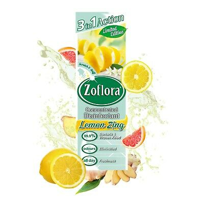 Zoflora Lemon Zing 250ml - Free Shipping