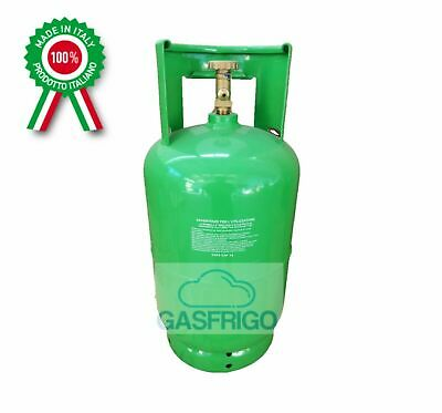 Cylinder Empty with Tap x Recovery Gas Coolant - Max 12 kg R410A R134