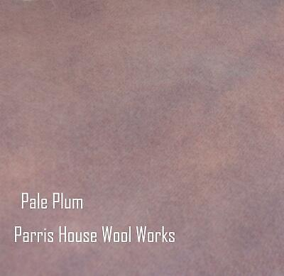 """Wool, Fat Quarter - """"Pale Plum"""" - Hand Dyed Wool"""