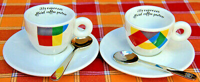 2 Cups Tazze Tazzine illy Caffé Art Collection coffee Milano EXPO