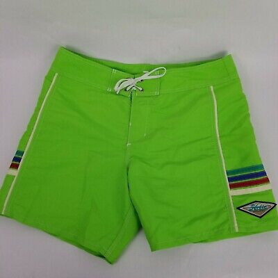 17eb11aea3 Hobie Surf BEACH Hurley Mens Green Boardshorts Swim Trunks Shorts EUC Sz 34  x 6