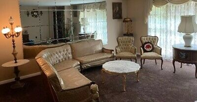 FRENCH PROVINCIAL FURNITURE Reproduction Living Room Set by ...