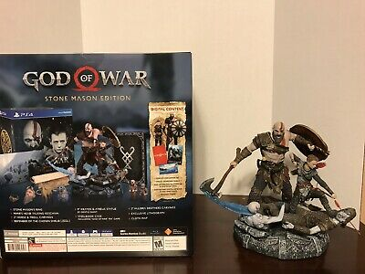 God of War: Collector's Edition (Sony PlayStation 4, 2018) No Game