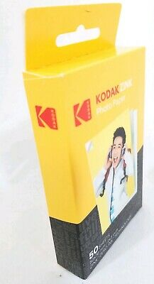 🔥Kodak Mini 2x3 Stickers ZINK Photo Printer Paper Ink 50 Sheets NEW Printomatic