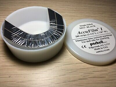 AccuFilm I Parkell Articulating Paper Single Sided Black 280 Strips