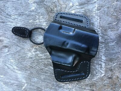 Glock leather belt holster