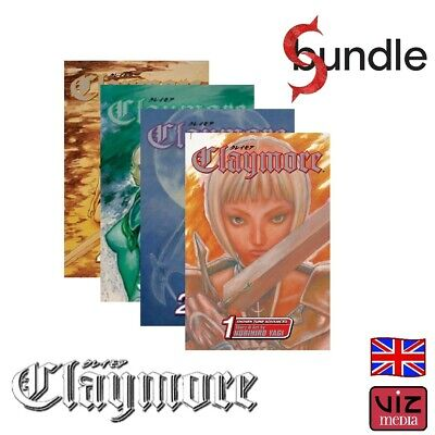 CLAYMORE, Vol. 1 - 11 (Season 1) by Norihiro Yagi [English] Manga VIZ Set Bundle
