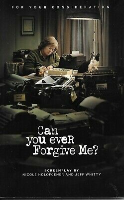 Can You Ever Forgive Me? Fyc Screenplay Oscar & Golden Globe Nominee