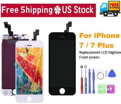 For iPhone 7, 7 Plus LCD Display Touch Screen Digitizer Assembly Replacement Kit