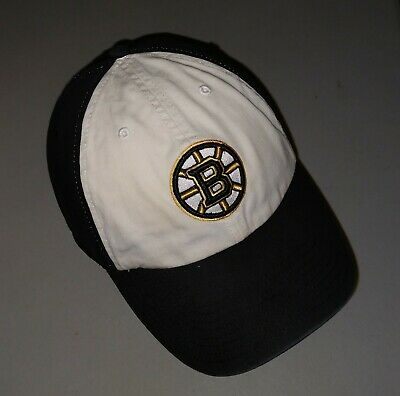 a9f1aedb5 Boston Bruins Hat Baseball Cap Fitted Small 47 Twins Franchise Fit NHL  Hockey