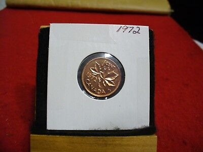 1972  Canada  1  Cent Coin  Penny  Proof Like  High  Grade  Sealed  See Photos