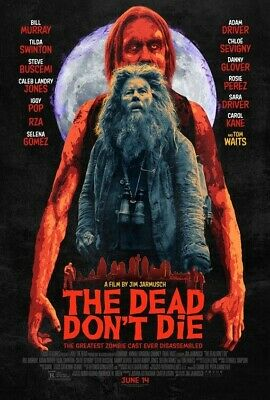 THE DEAD DON'T DIE film poster - glossy A4 print - TOM WAITS