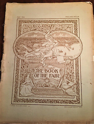 RARE 20+ ORIG VOLUMES  Columbian Exposition The Book of the Fair 1893 - FIRST ED