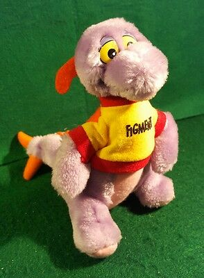 "FIGMENT Walt Disney World Disneyland 7"" Plush Stuffed Animal Toy 1982 EUC"