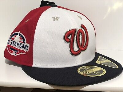 99030992f25ec5 Washington Nationals All Star Game New Era Hat 59fifty 7 1/2 Baseball Cap  Fitted