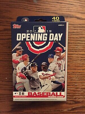 2019 Opening Day Very Thick Diamond Relic/Mascot Auto-Relic Hanger Box Hot Pack