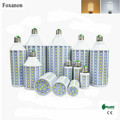 E27 7W-50W 5730SMD LED Corn Bulb Lamp Light Energy Saving Outdoor White 110-220V