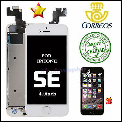 Pantalla Completa iPhone SE LCD Display Retina Tactil Digitalizador Blanco+BOTÓN