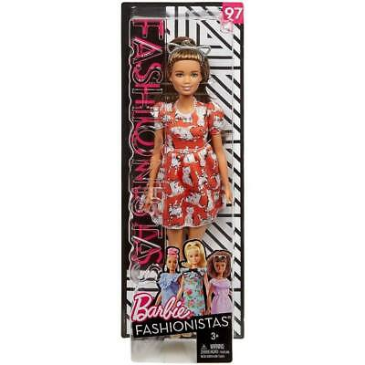 2018 Barbie Fashionista Doll #97 MEOW MIX NEW IN THE BOX