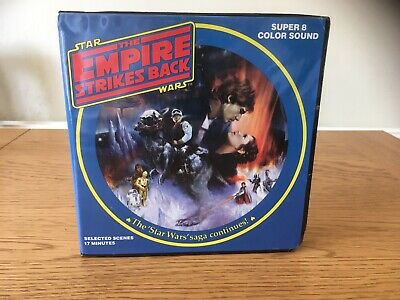 Vintage / Retro Super 8 Film Star Wars The Empire Strikes Back 17 Minutes