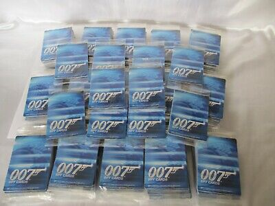 James Bond 007 Spy Cards 160 Unopened Packets Cards 2008 ** Collect Or Resale **