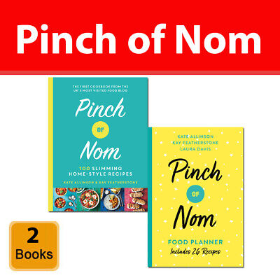 Pinch of Nom collection 2 Books Set Pinch of Nom Food Planner 26 New Recipes