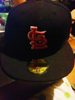 brand new 49baa bf573 New Era St. Louis Cardinals red hat cap 59Fifty fitted 7.5 MLB