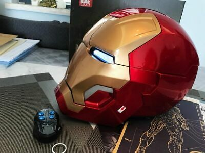 ROAN Electronic Iron Man MK7 VII Wearable Helmet 1:1 Prop Jarvis Voice Open Toy