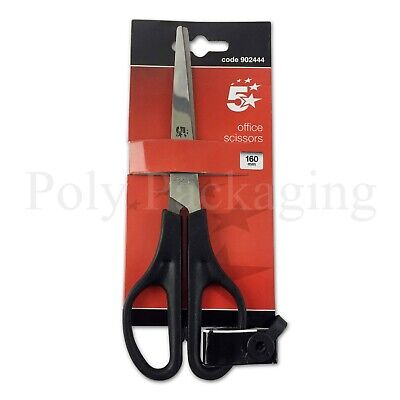 50 x Small SCISSORS(160mm/16cm)Stainless Steel for Office/School/Craft/Home