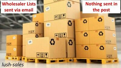 2019 WHOLESALE & Joblot Suppliers, Bankrupt. Bulk Stock Liquidation 30000+ Lists