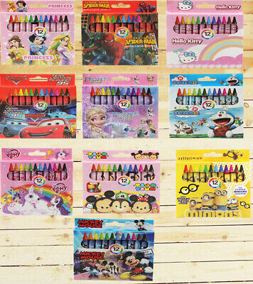 12 colors non-toxic Crayon Kids Student Pastel Pencils Drawing Painting Party